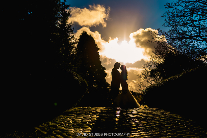 cheshire wedding silhouette