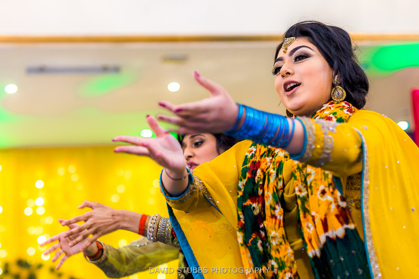 women celebrating at wedding
