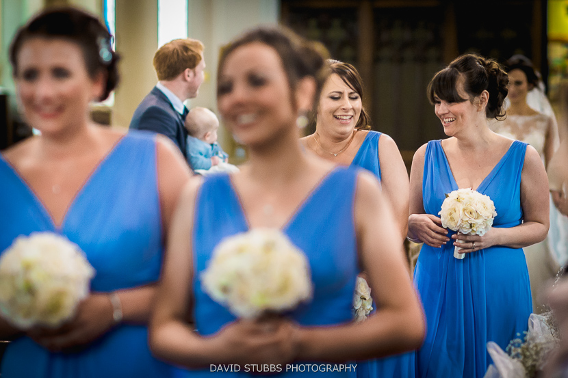 bridesmaids colour photo