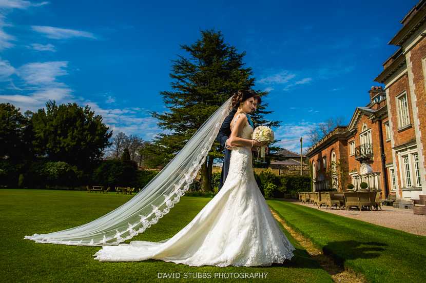husband and bride in lancashire