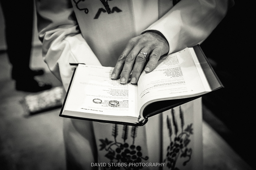 vicar reading book