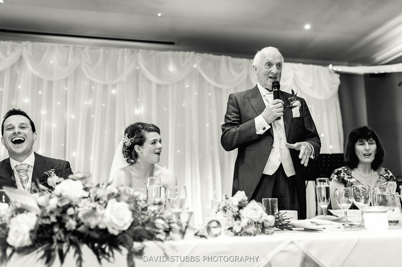 brides father speech