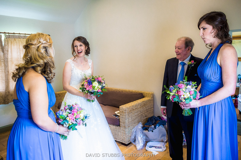bridal party ready