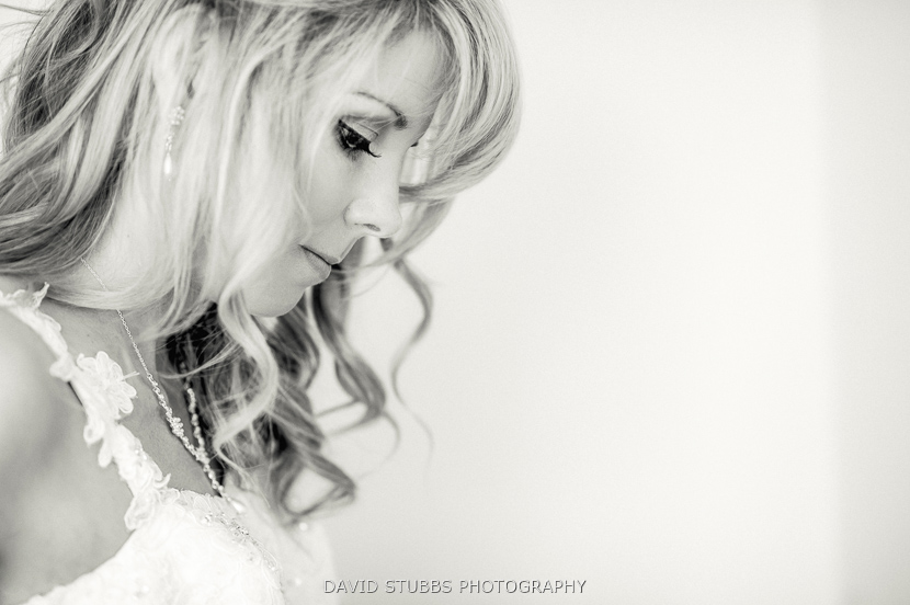black and white bride wedding photography