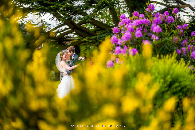 wedding photography at Dovecliff Hall Hotel