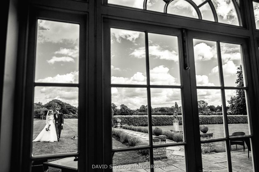 window black and white