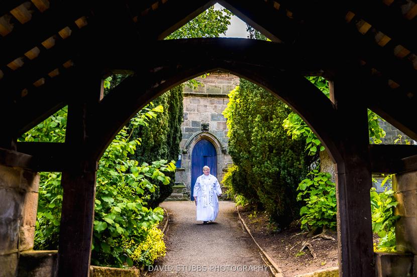 vicar outside church