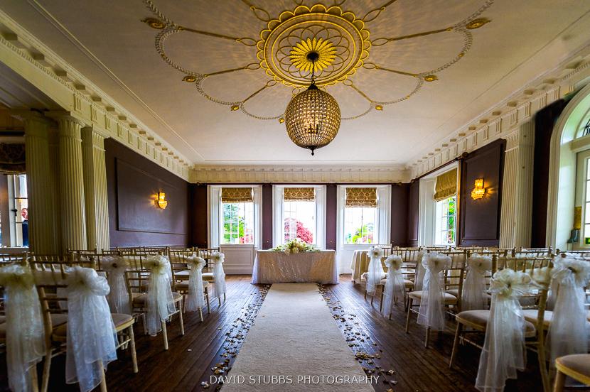 empty ceremony room