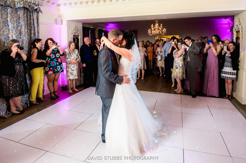 first dance colour photo