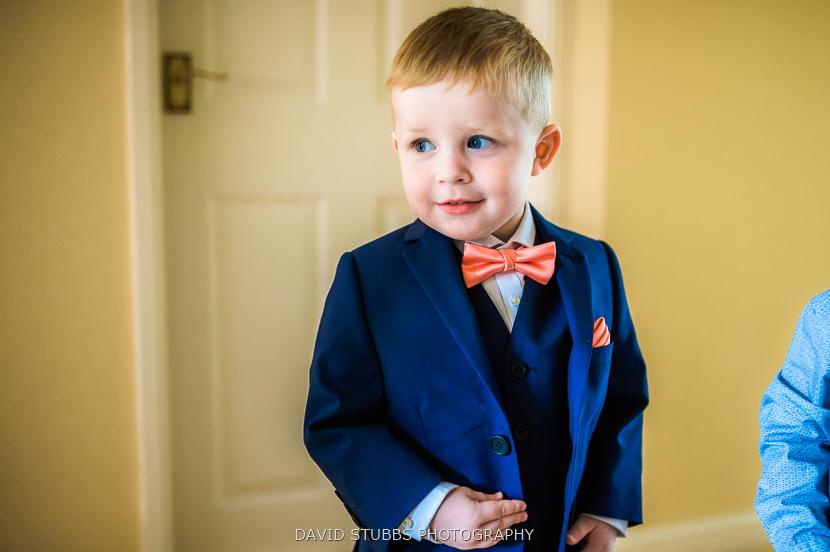 little lad in suit