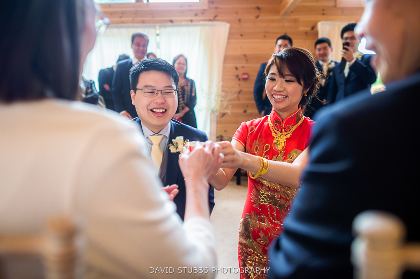 chinese tea ceremony at styal lodge