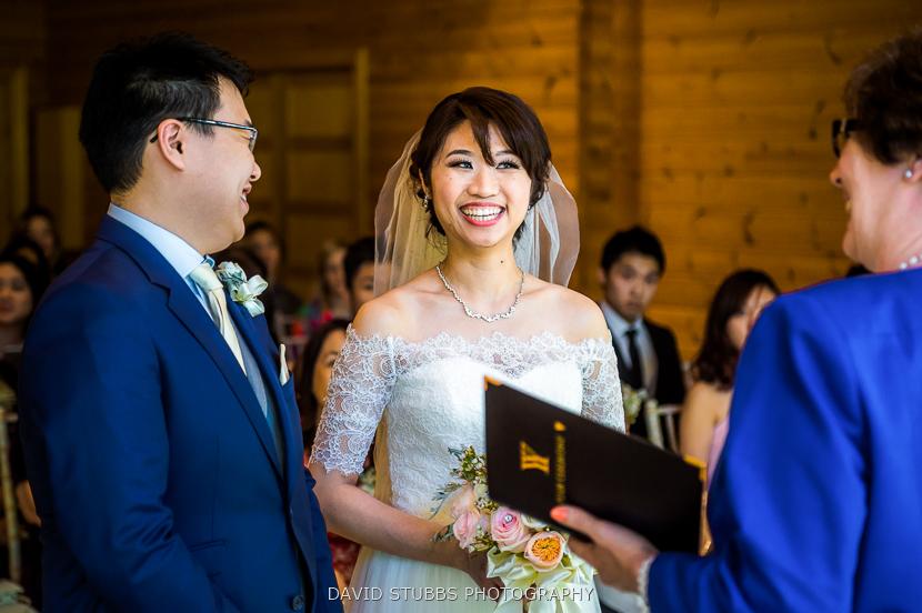 marriage ceremony in progress