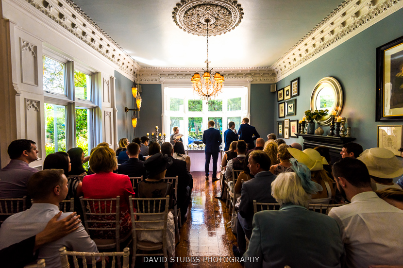 wedding photographer at Didsbury House hotel