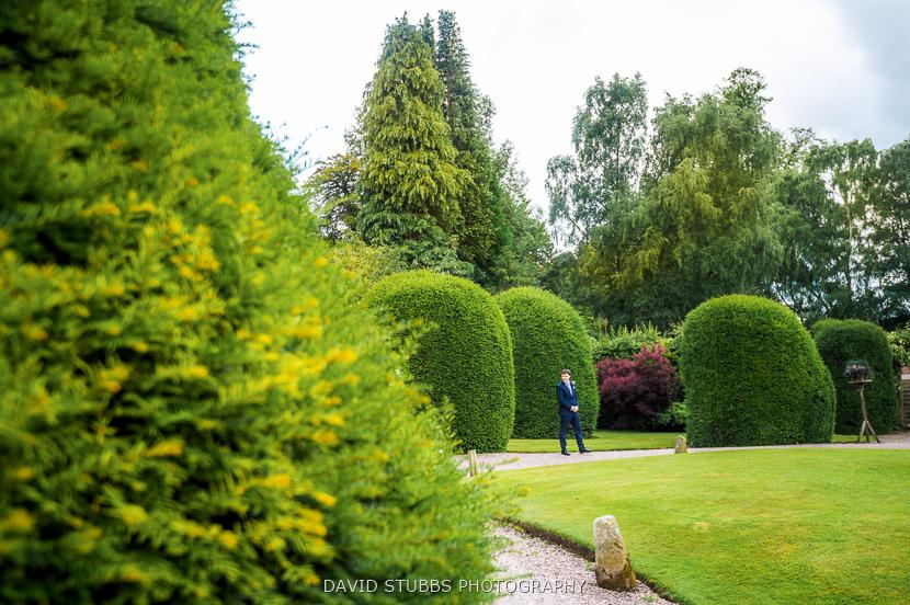 gardens at weddign venue wales