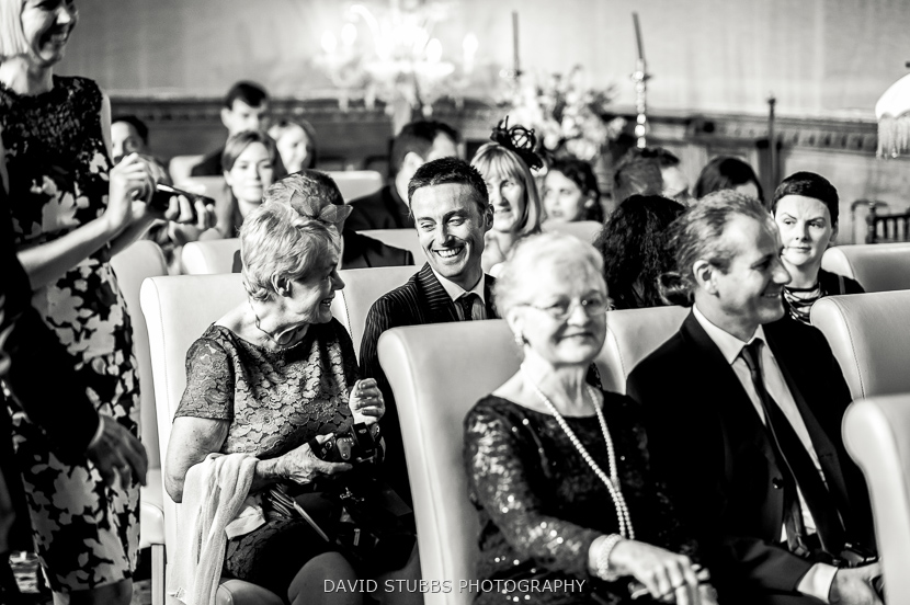 guests at ceremony