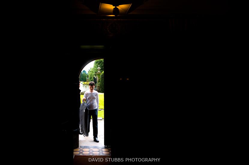 man in door