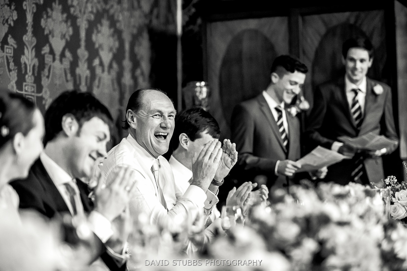 guests applauding photo
