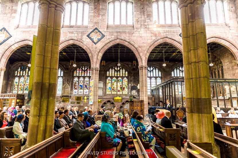 inside church colour photo