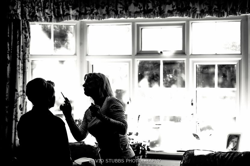 silhouette in window