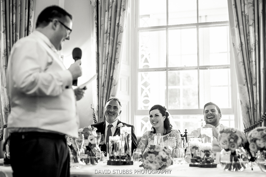 best man with microphone