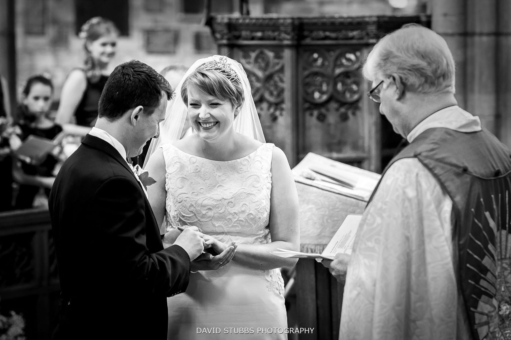 wedding ceremony before Carden park reception