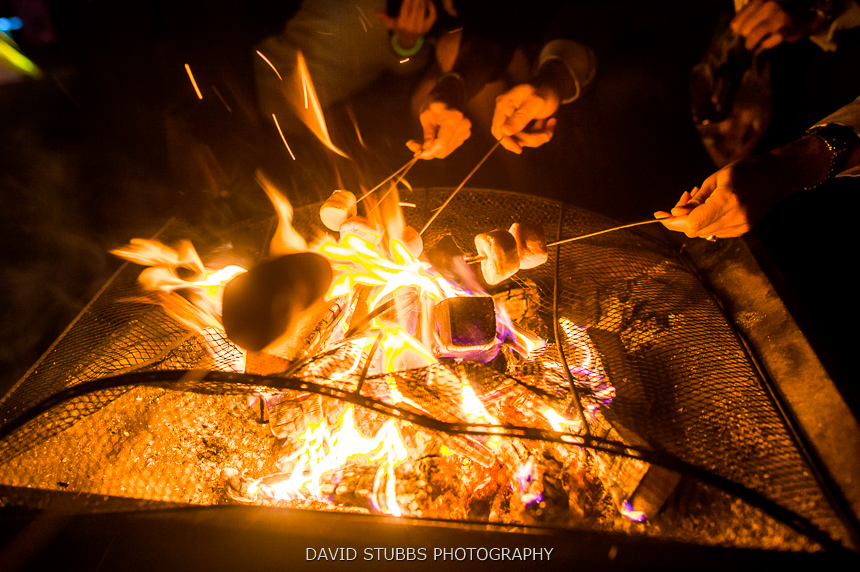 fire pit marshmallows