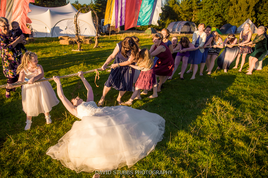 delamere wedding fun