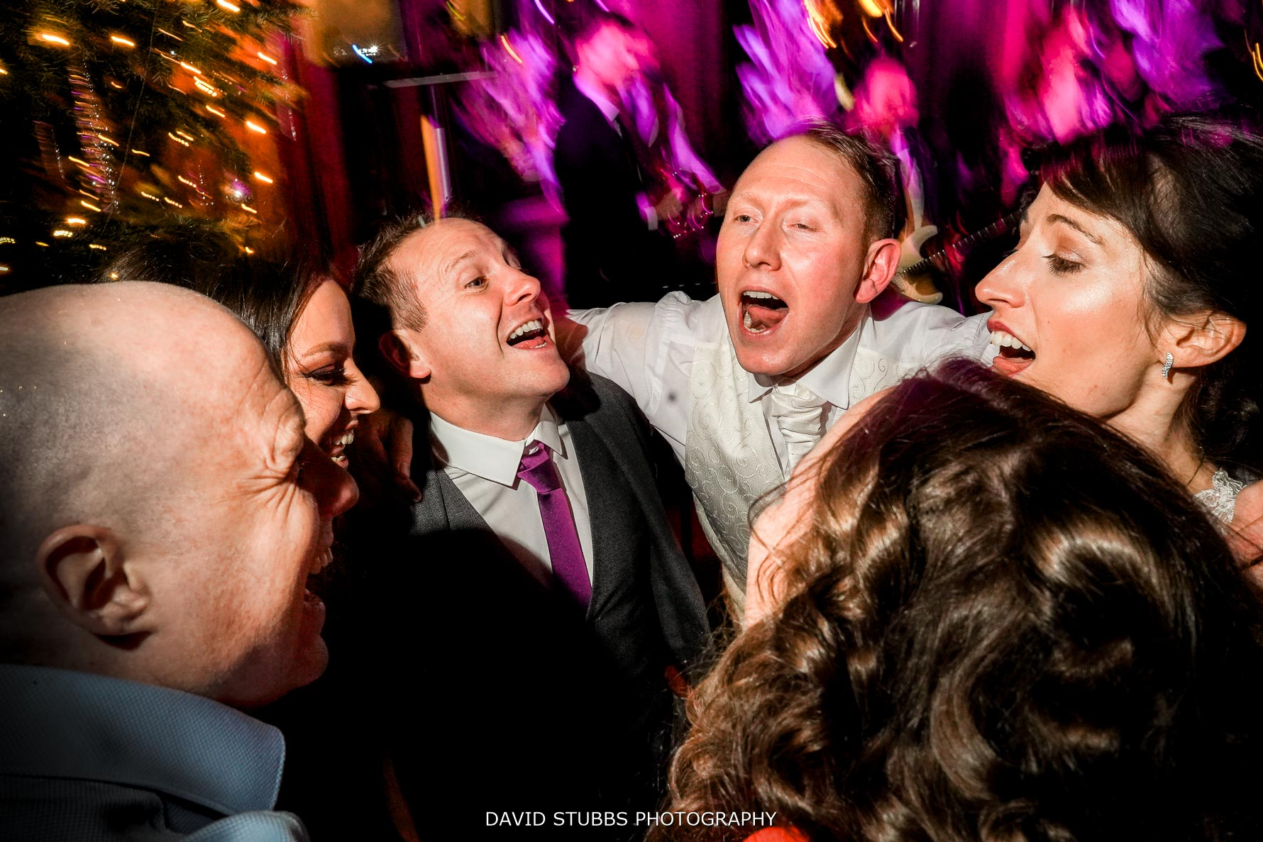 final shot of the night at this Thornton manor wedding