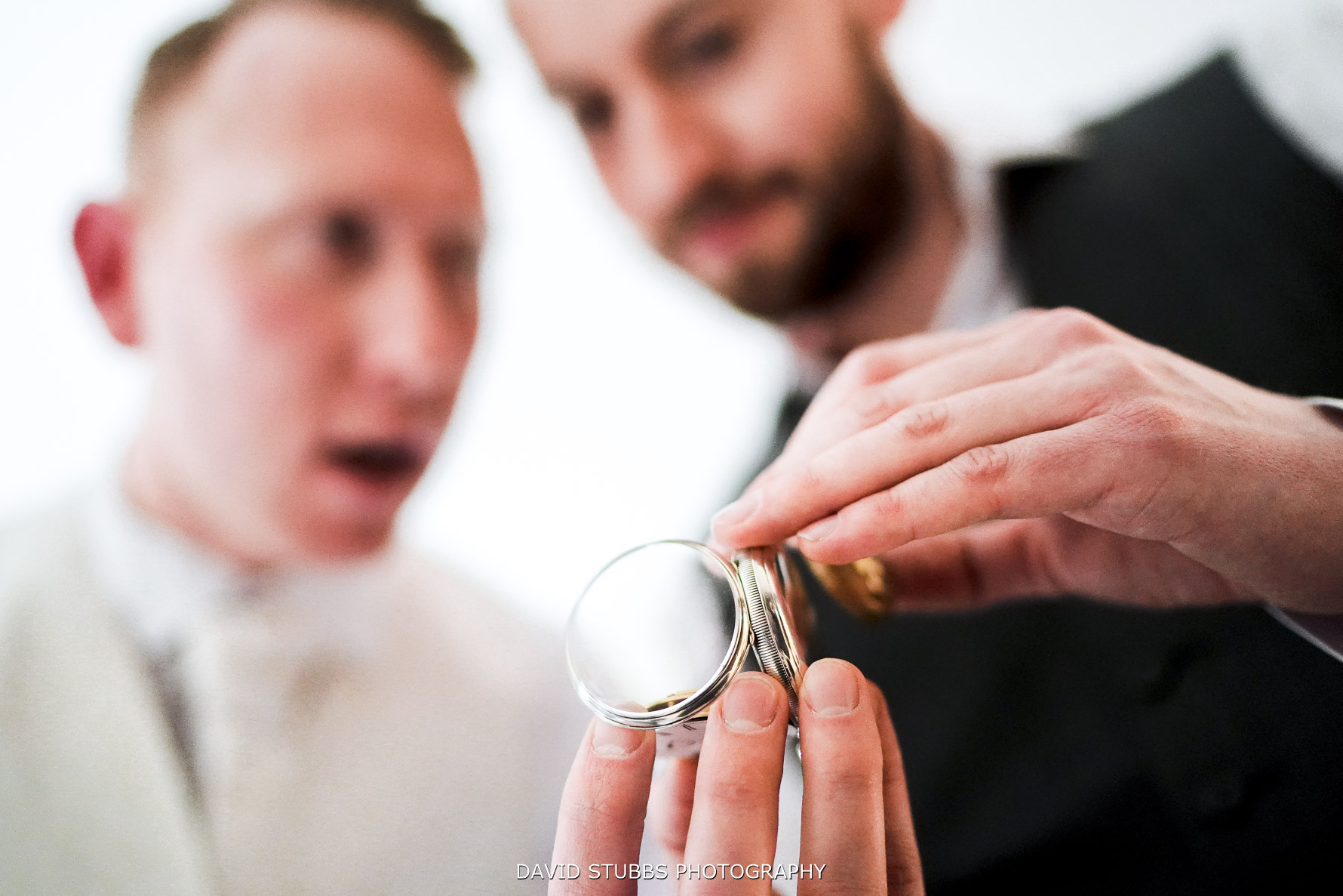 gift of a watch fro the bride