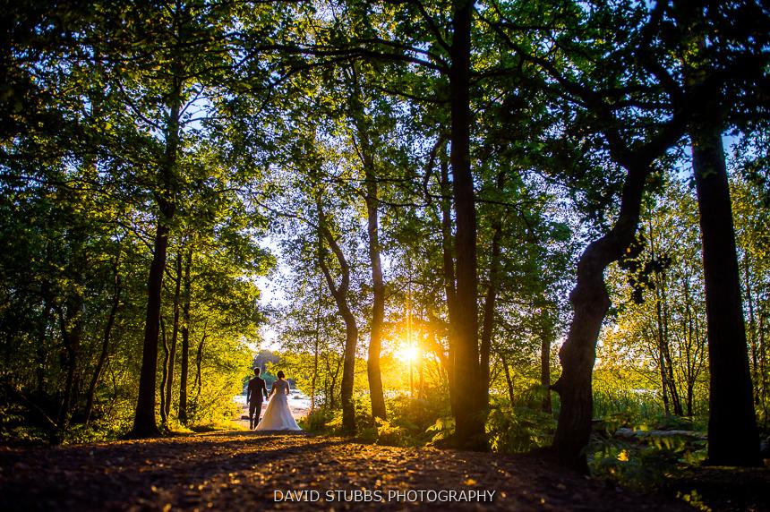 delamere wedding woodland photography