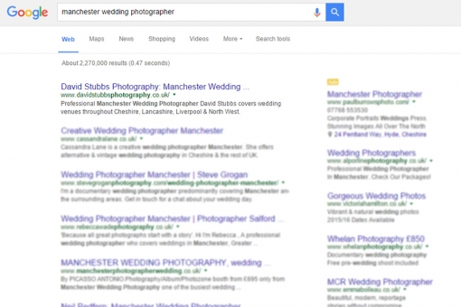 SEO for wedding photographers workshop