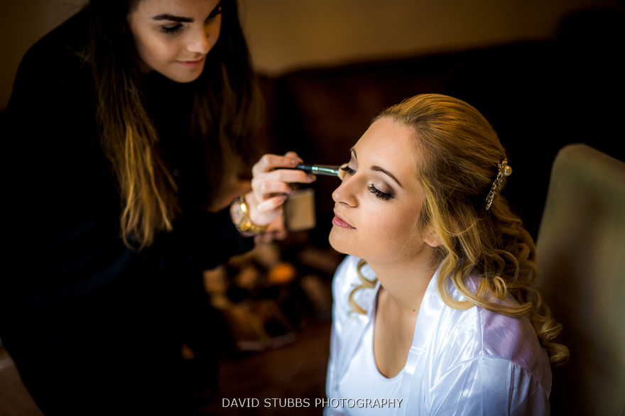 bridal wedding make up