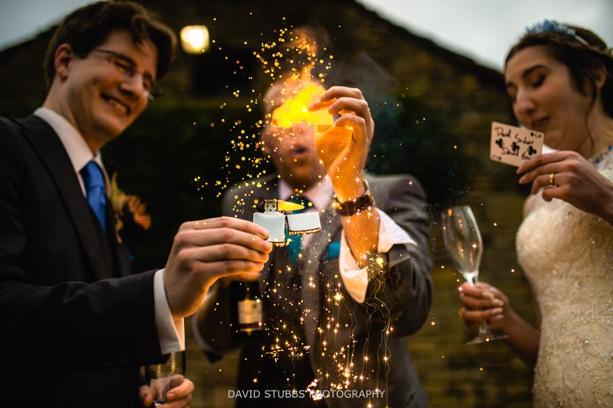 sam fitton wedding magician