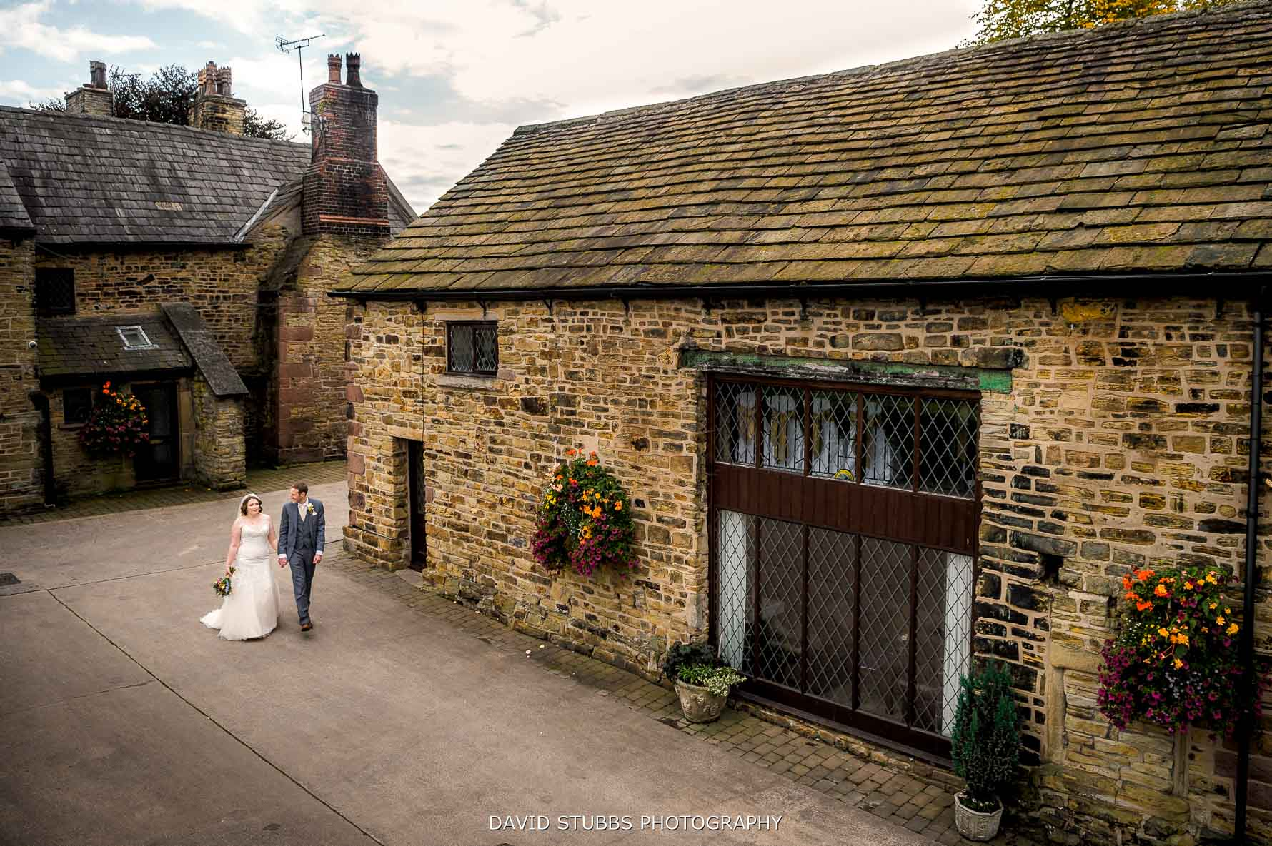 hyde bank farm wedding photo