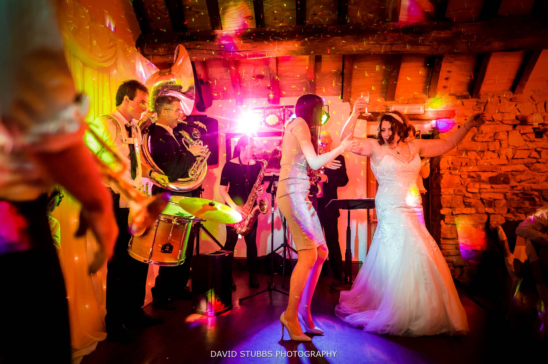 bride dancing at her wedding