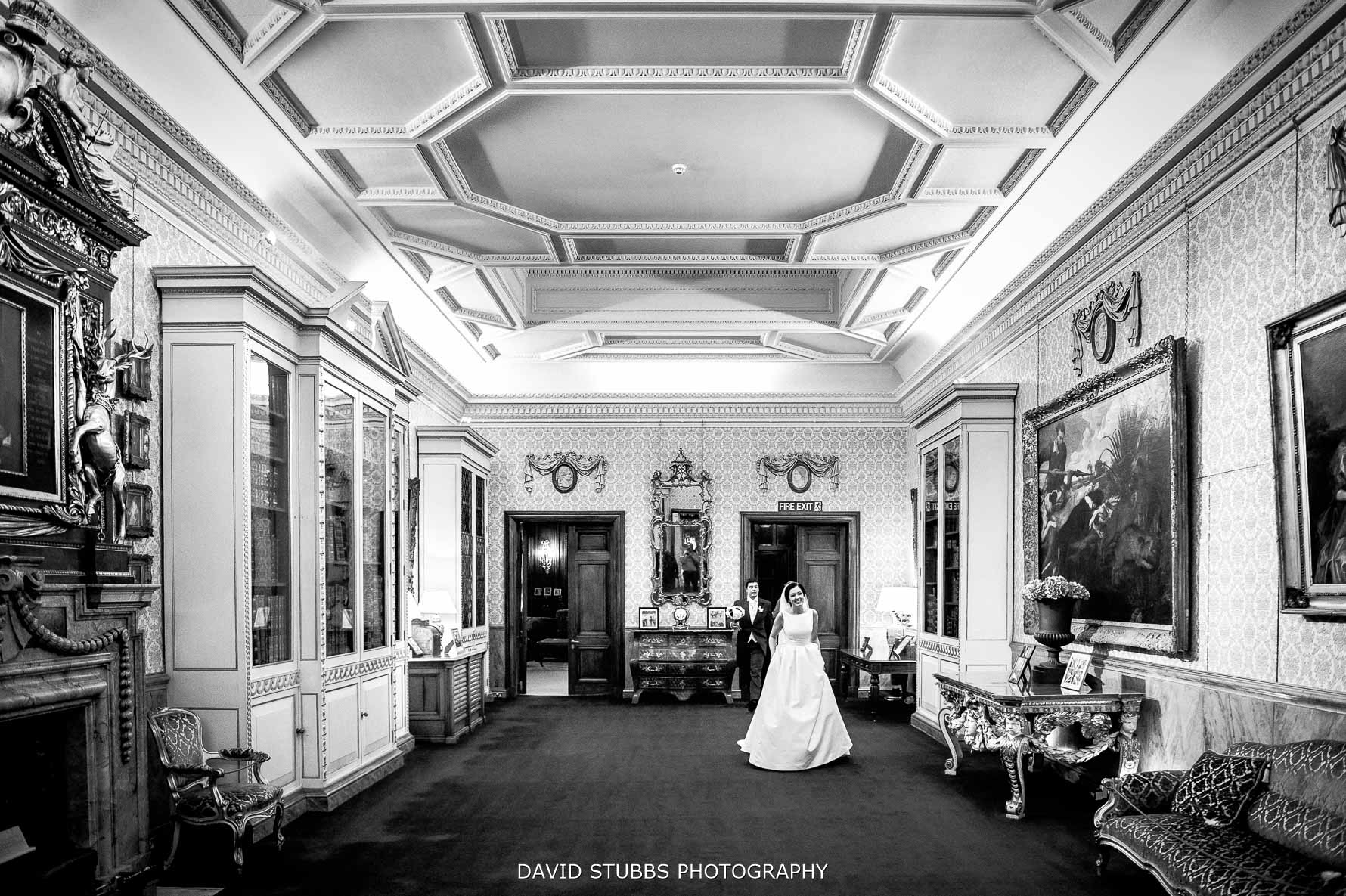 bride at her Knowsley hall wedding
