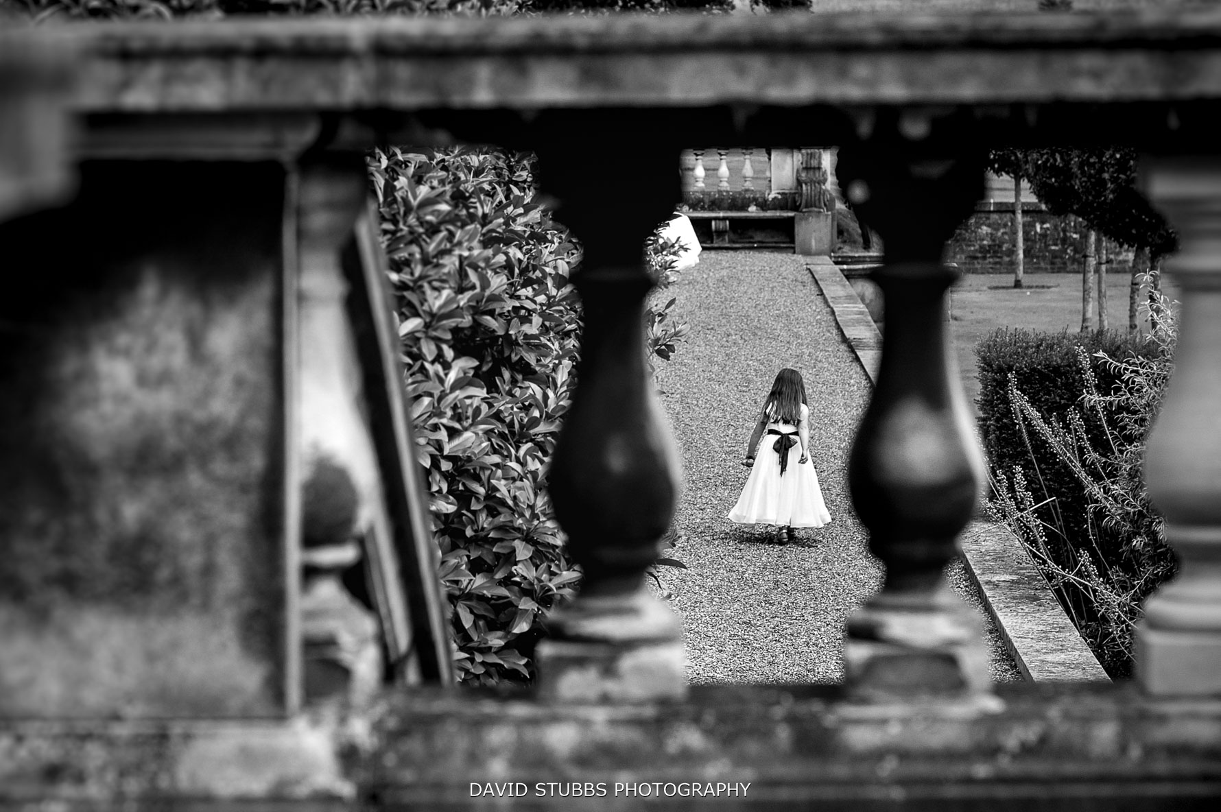 flower girl composition from Bannister