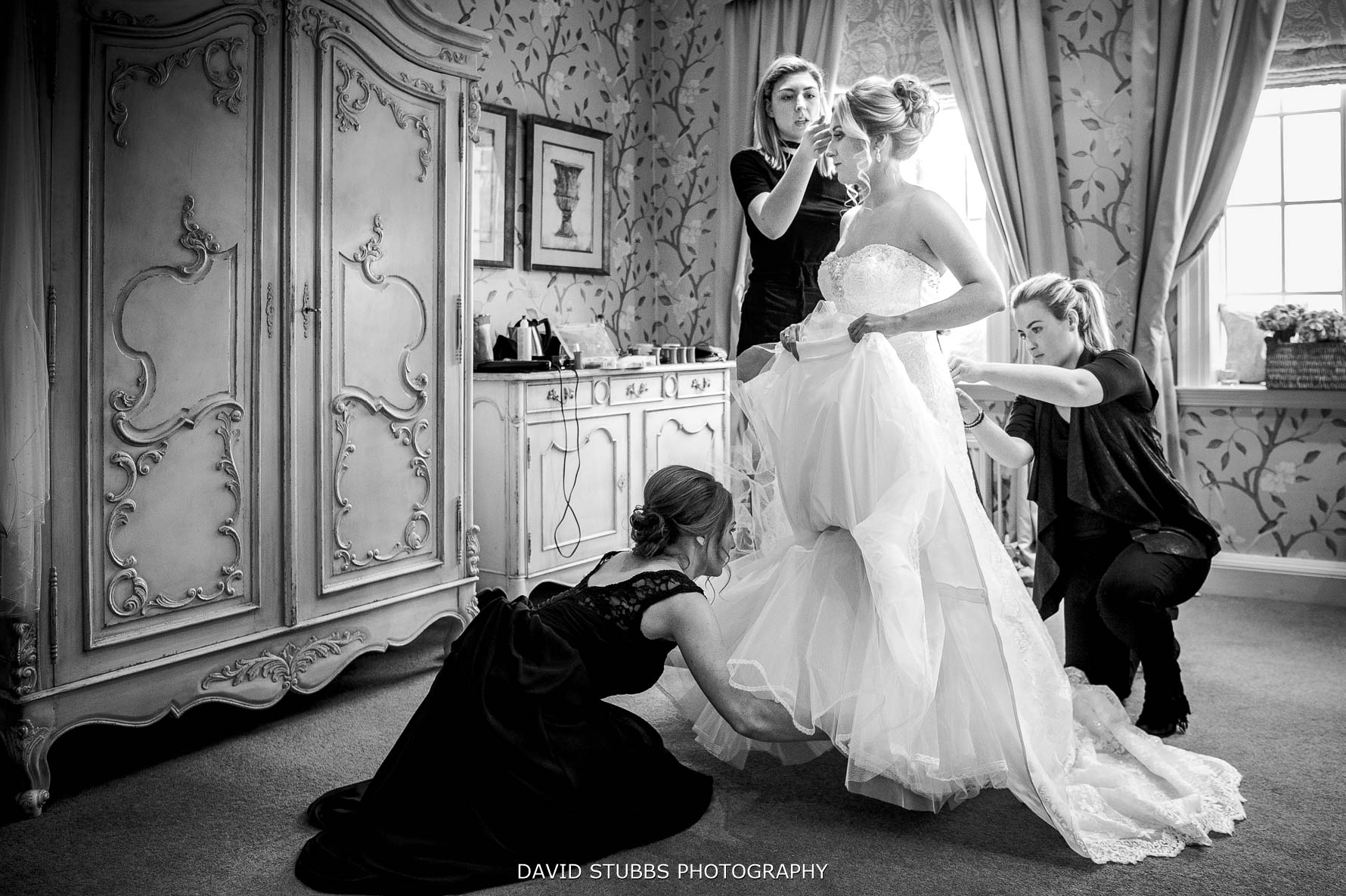 final touches before marriage