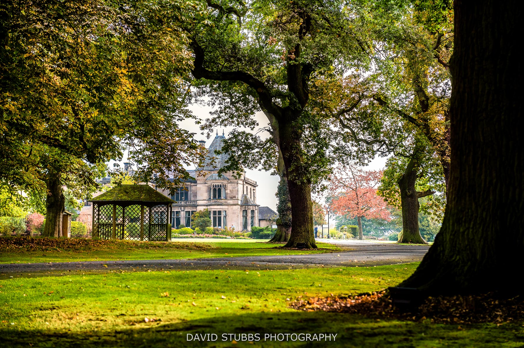 Rookery Hall in the autumn