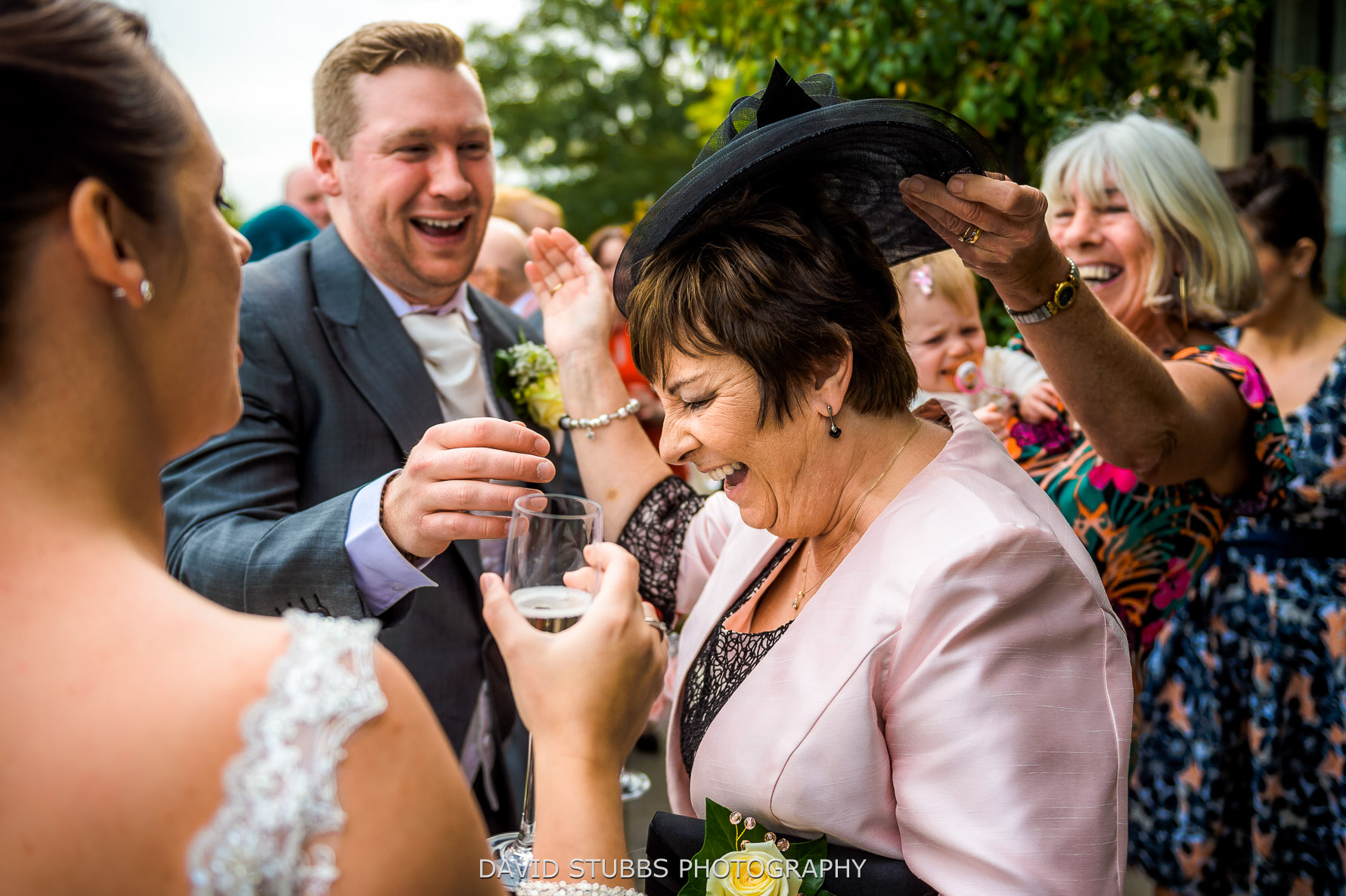 what makes a wedding is guests