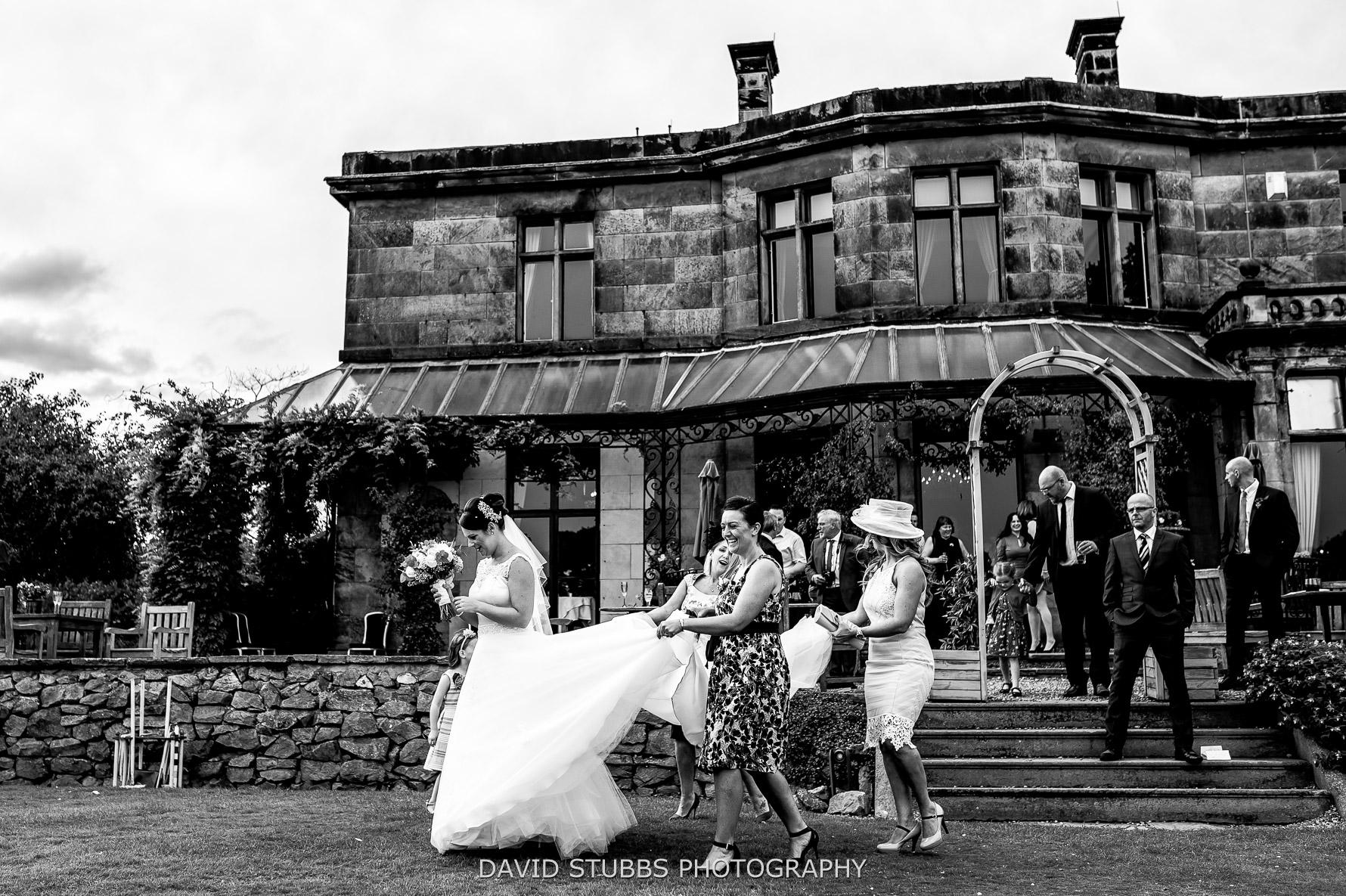 wedding photo at Rookery