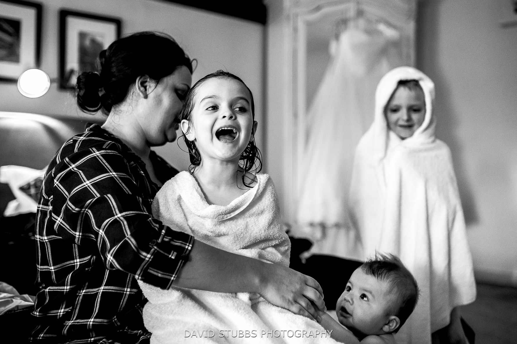 the children of bride and groom