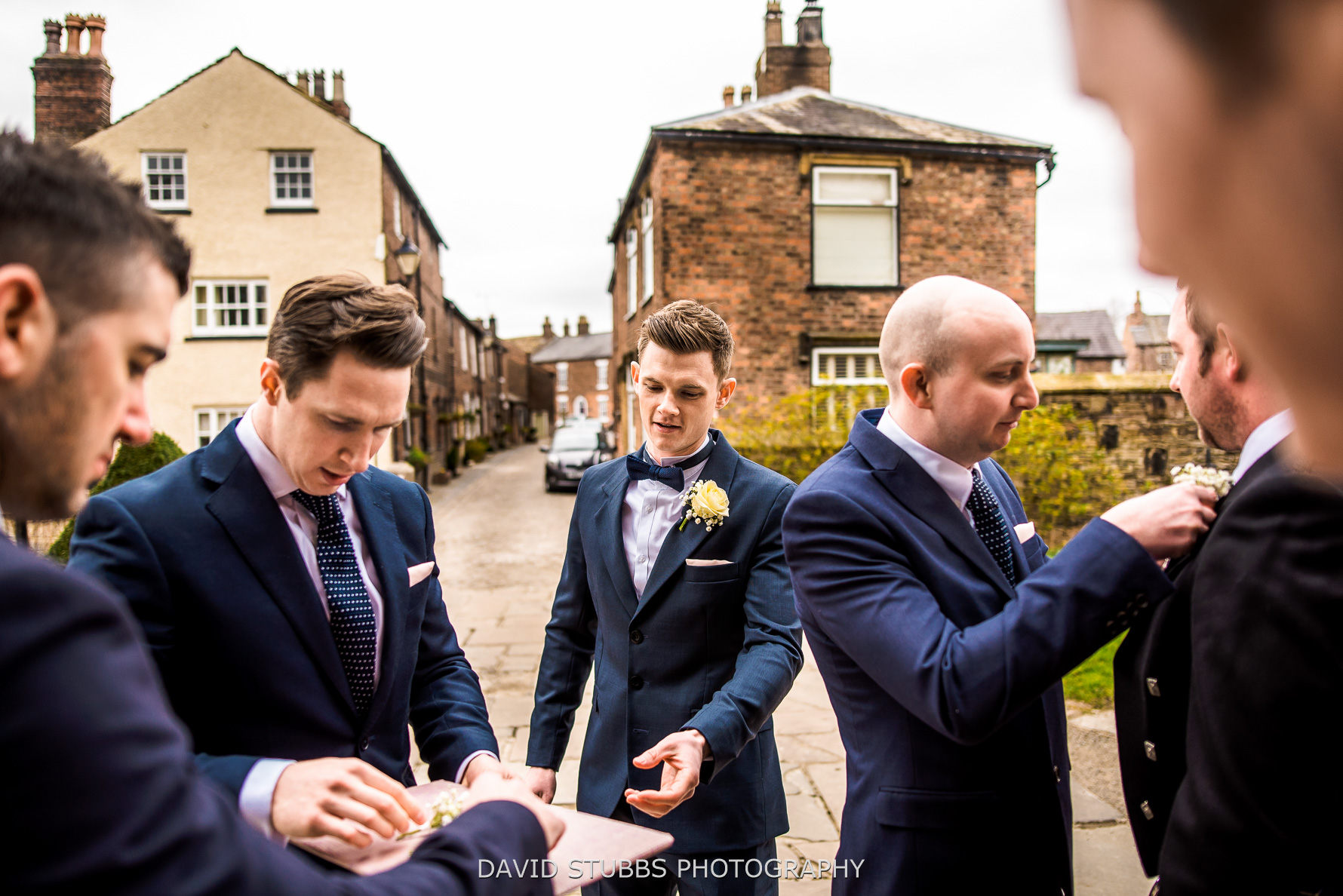 groomsmen pre wedding