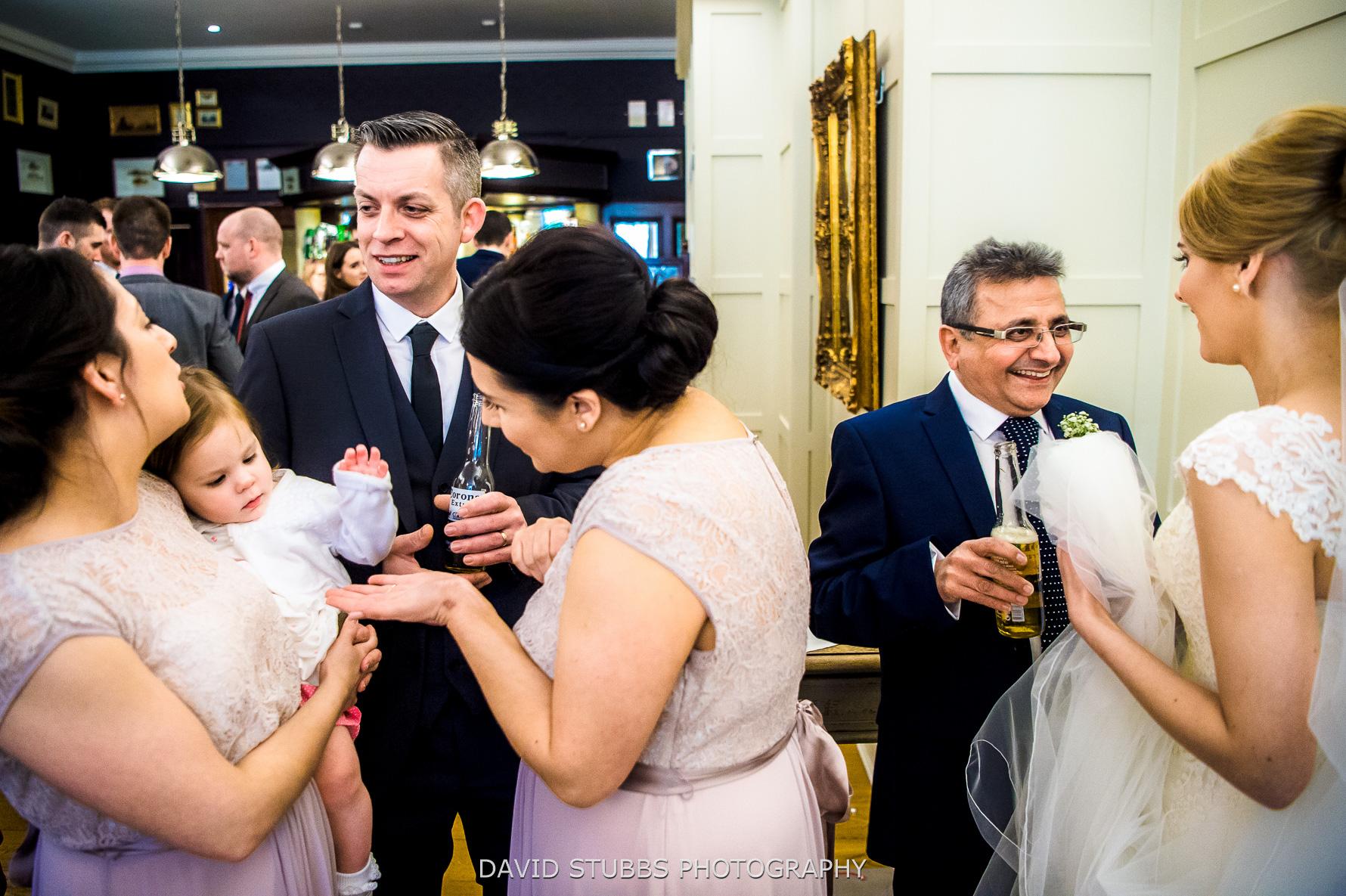 double image of wedding