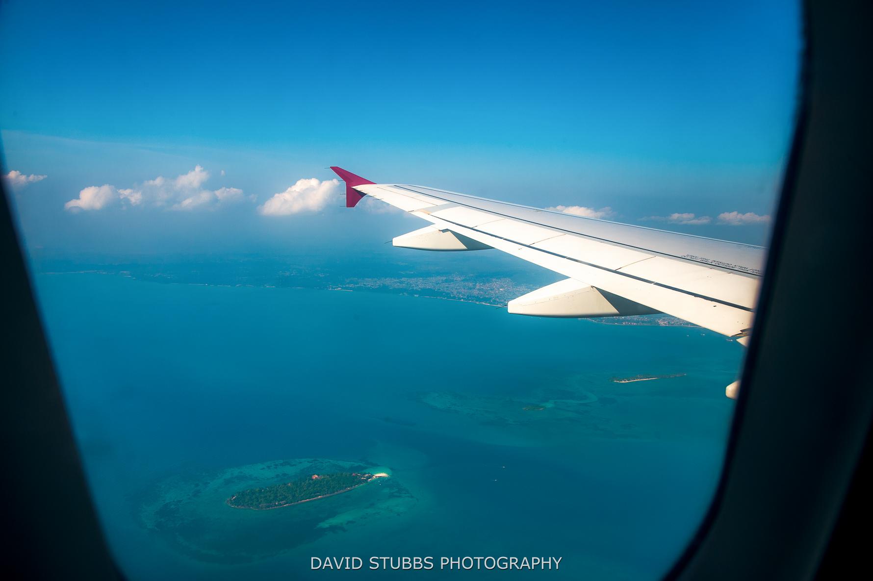 zanzibar from plane