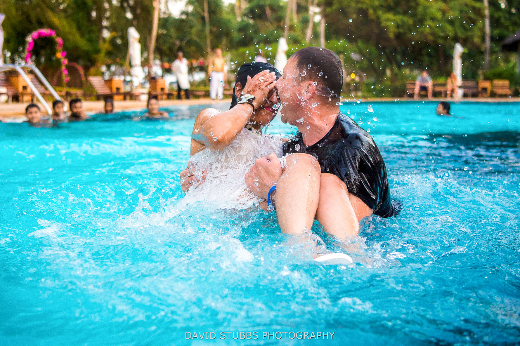 splash camera wet