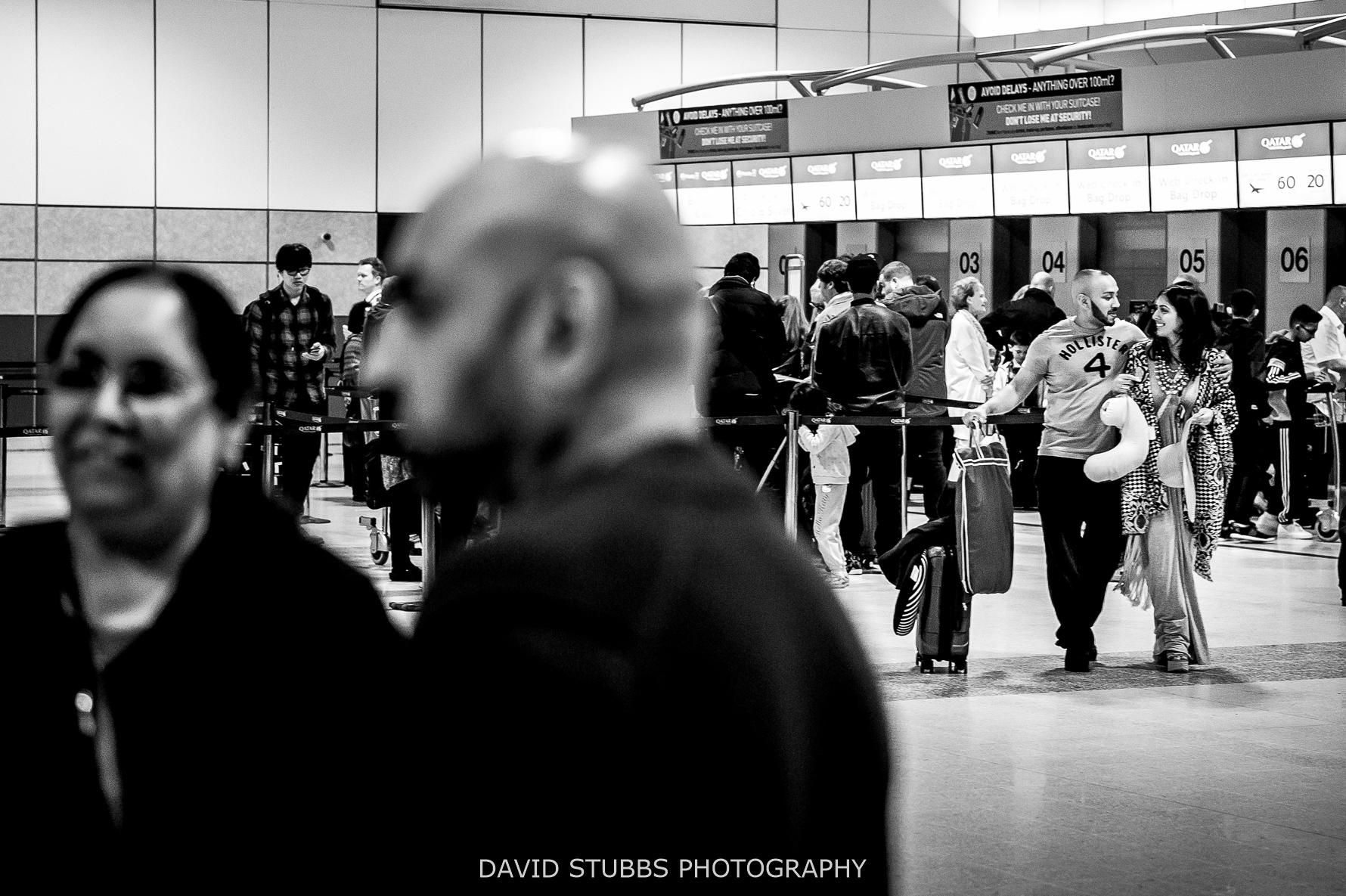 at airport to xanzibar