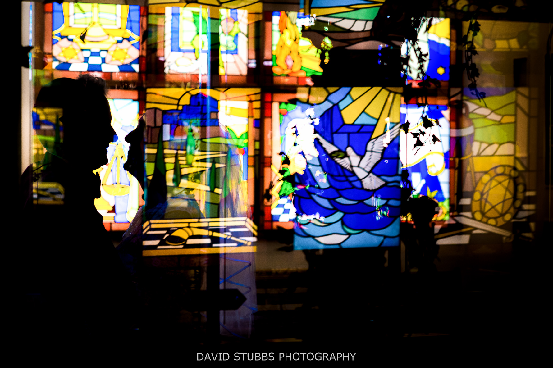 stain glass window