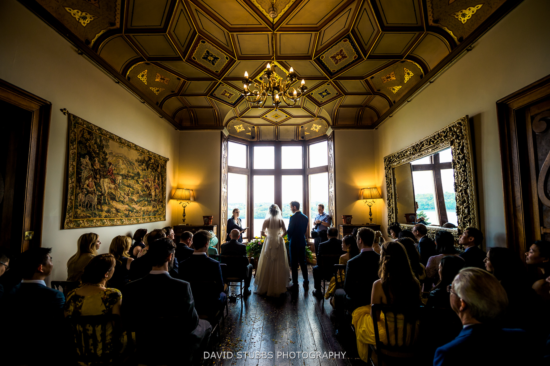 back of ceremony room