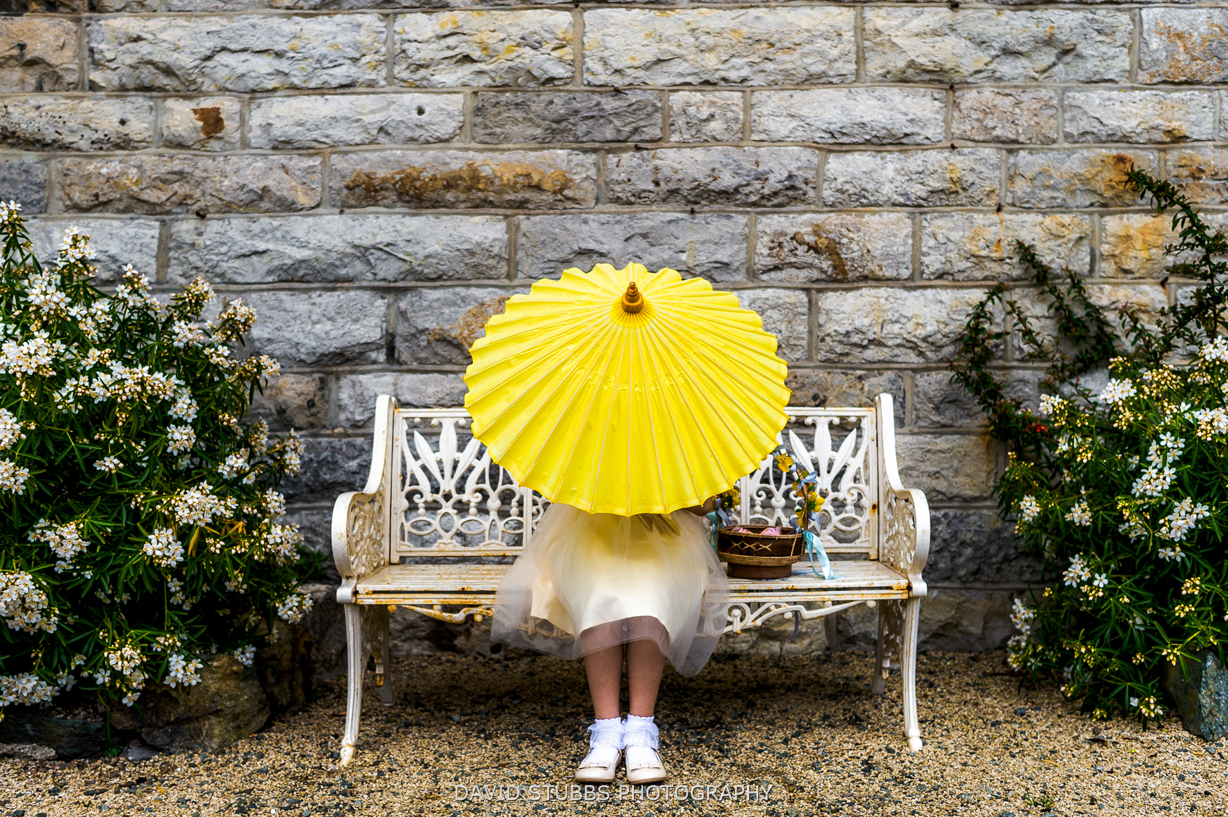 funny photo with parasol